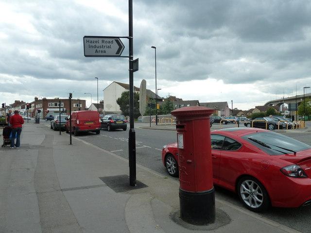 Post office in Bridge Street