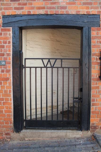 Gate, Women's Institute, Bank Street, Malvern