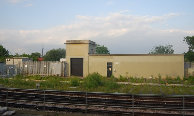 Railway building near Guildford Station
