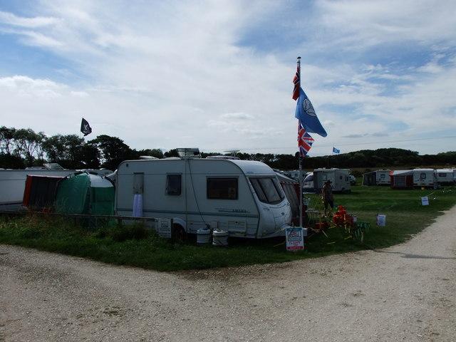 Caravan site, Beacon Farm, Flamborough