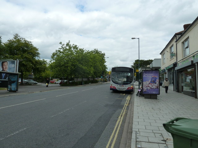 Bus in Portsmouth Road