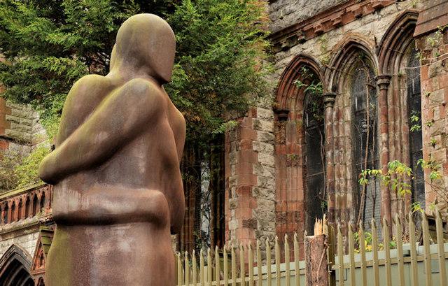 Sculpture, Carlisle Circus, Belfast (2)