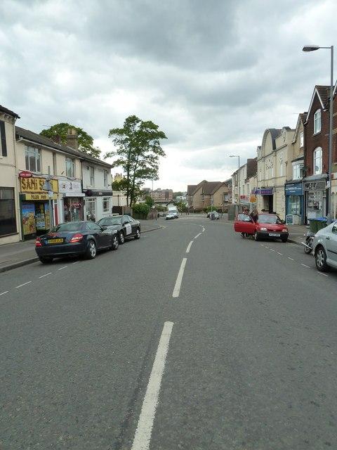 Looking westwards in Portsmouth Road