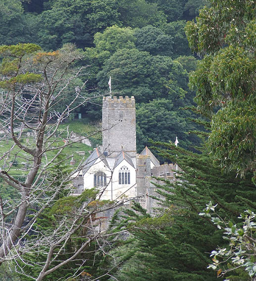 St. Petrock's church, Dartmouth
