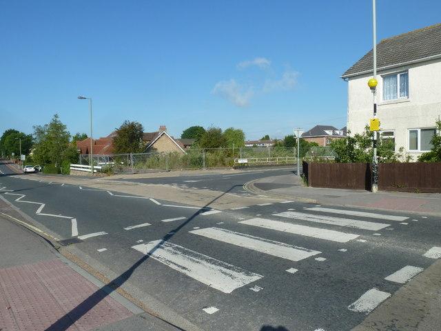 Zebra crossing, Highlands Road