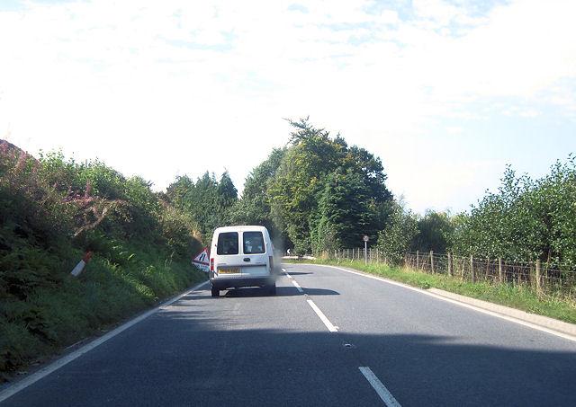 A487 by Carreg Farm