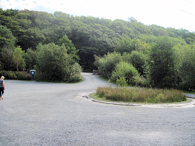 Entrance to Cors Dyfi reserve