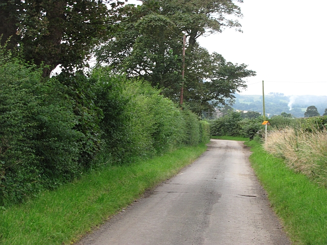 A minor road, Bonnytoun