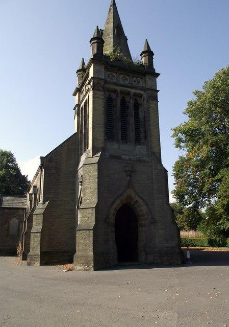 Church, Liversedge Cemetery, Clough Lane