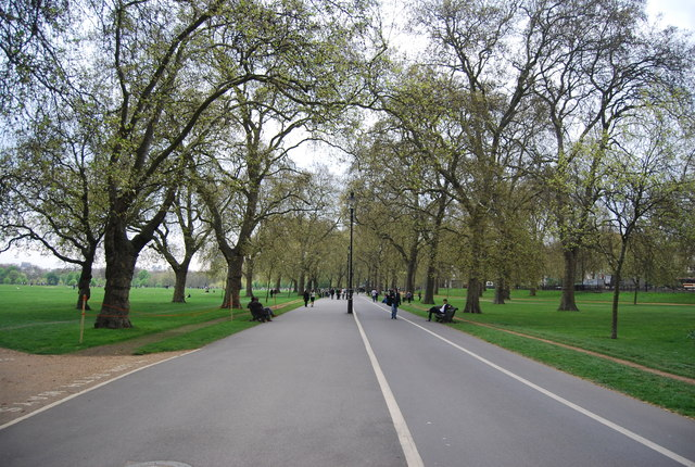 Broad Walk, Hyde Park