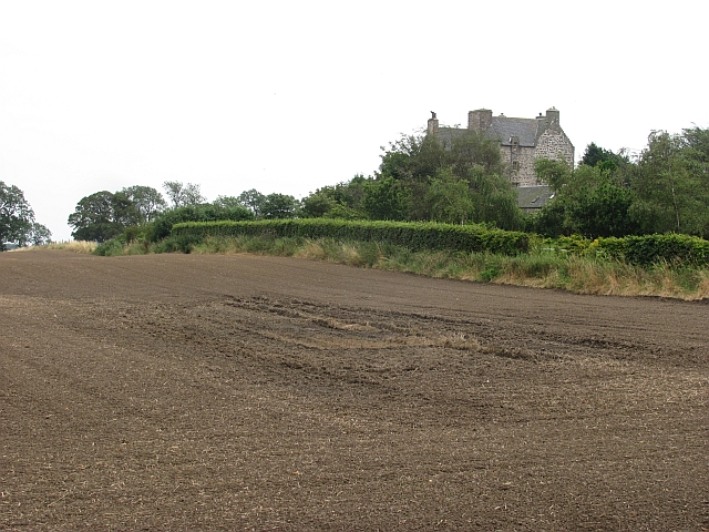 Newly cultivated field by Ochiltree Castle