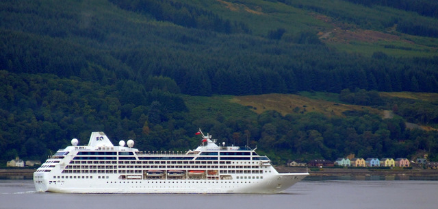 Ocean Princess in the Firth of Clyde