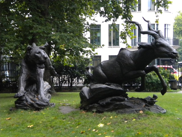Sculpture, Grosvenor Gardens SW1