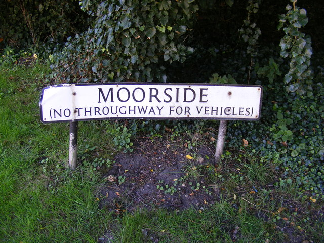 Moorside sign