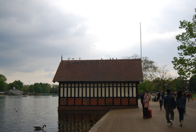 Boathouse, The Serpentine