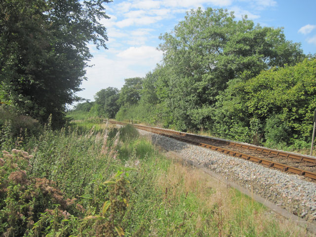 Cambrian Railway near Morben Hall
