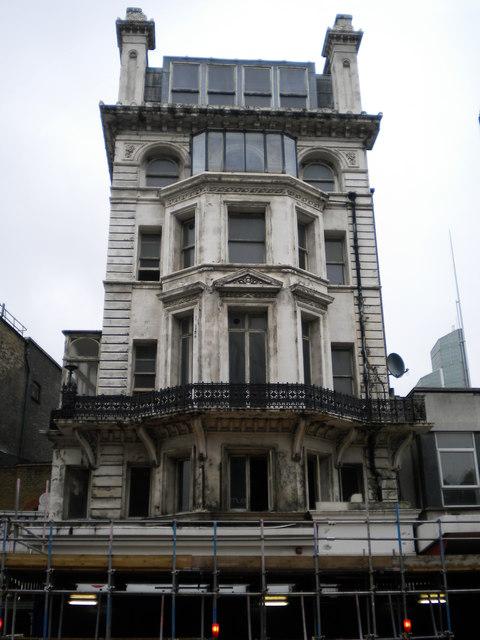 Derelict building, Victoria Street SW1