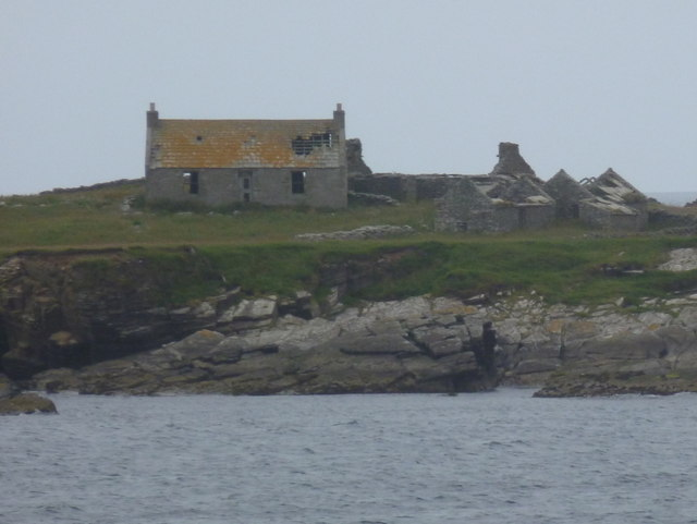 Swona: an abandoned house