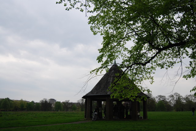 Shelter in Hyde Park