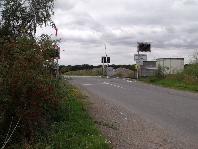 Claxby and Usselby Level Crossing
