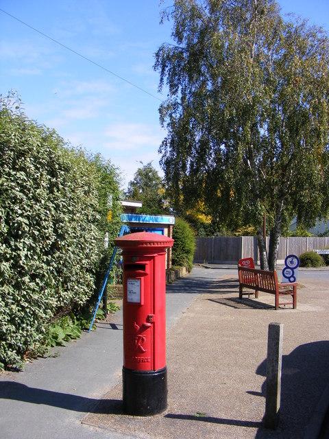 Manor Close Post Office George VI Postbox