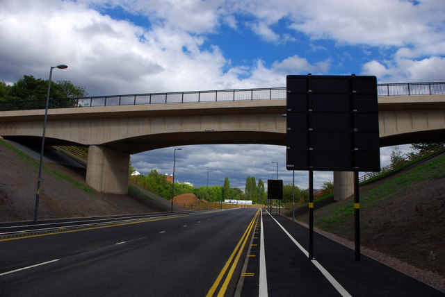 Ariel  Aqueduct - Aston Webb Boulevard (Selly Oak New Road, Phase 2)
