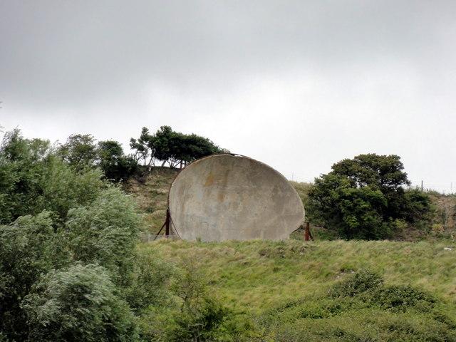 Hythe, The Roughs, 30' Sound Mirror