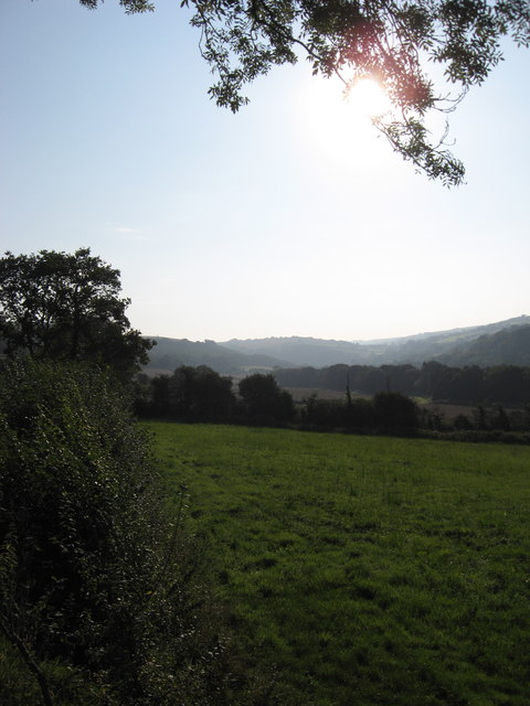 The Yeo Valley to the East of Pitt Farm