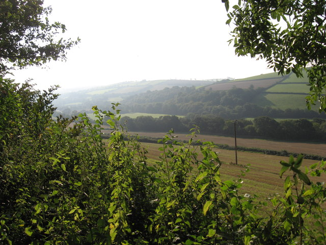 Easterly View up the Yeo Valley