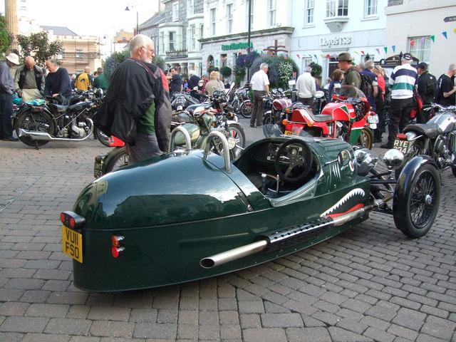 A Morgan 3 in Castletown