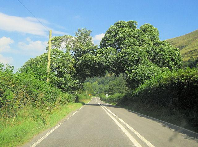 A470 approaching Graig-y-gronfa