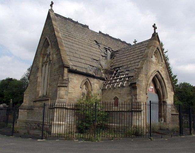 Derelict Cemetery Chapel