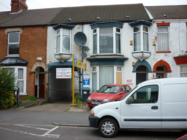 Anderson's Garage on Alexandra  Road, Hull