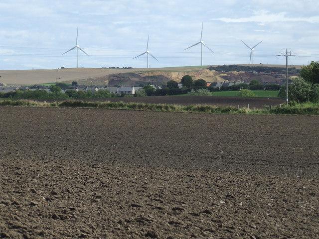 Ploughed field near Hetton-le-Hole