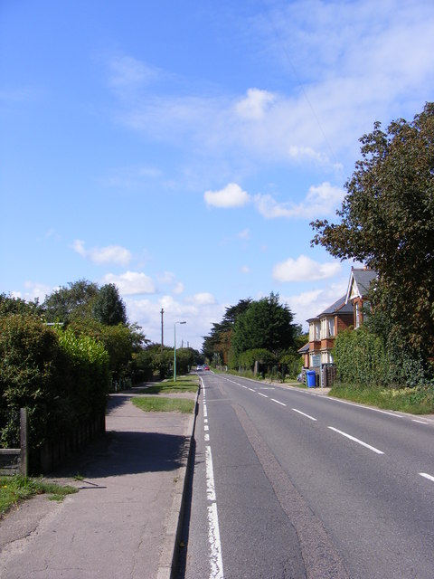 A1095 Halesworth Road, Reydon