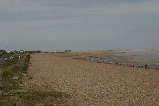 Winchelsea Beach the foreshore