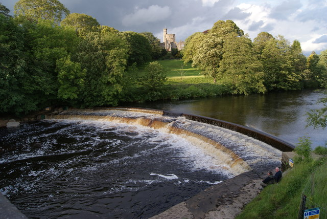 Weir on the River Wenning