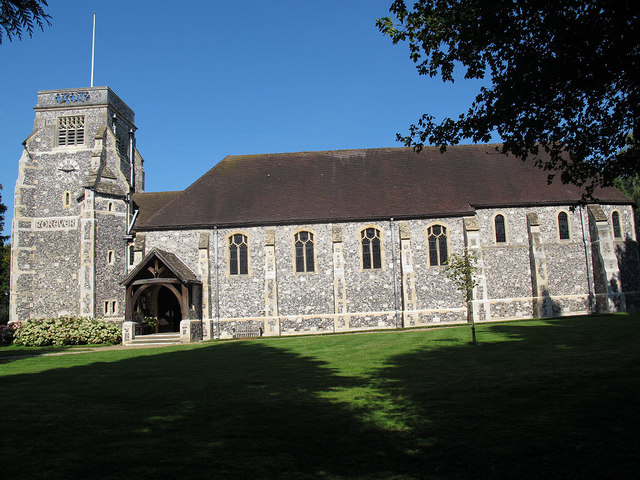 St Paul's church, Woldingham: south side