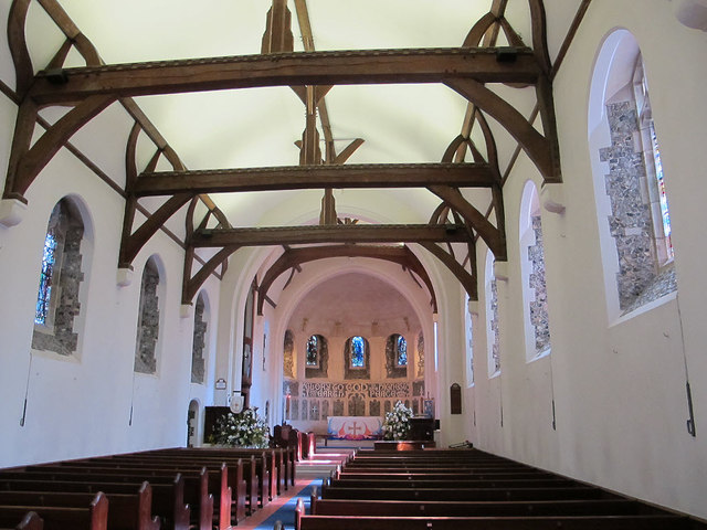 St Paul's church, Woldingham: interior