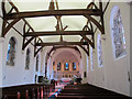 TQ3655 : St Paul's church, Woldingham: interior by Stephen Craven