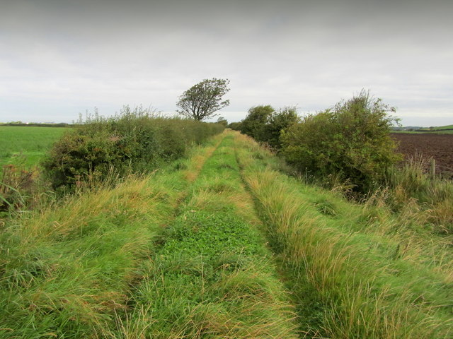 Bridleway leading to Thursland Hill