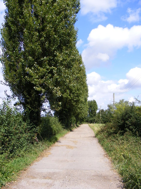The Entrance to Hall Farm