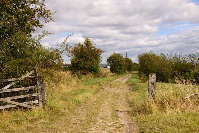 Bridleway through the gate