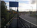 SP0483 : Shared use path along the New Fosse Way (QE Hospital Link Road) by Phil Champion