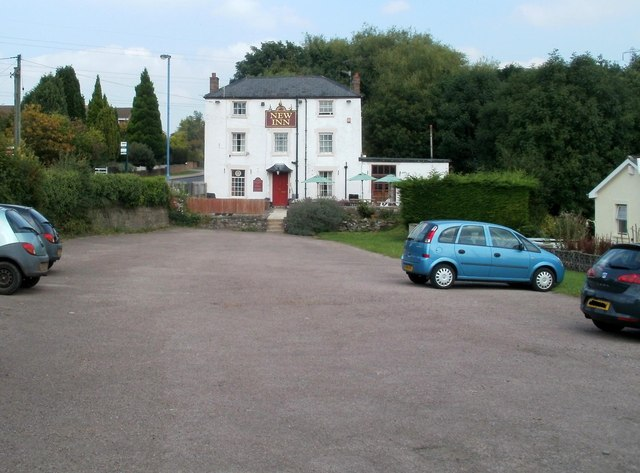 New Inn car park, Mardy