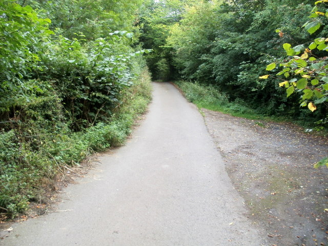 Nantgavenny Lane heads away from Mardy