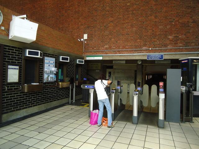 Ticket office, Chiswick Park underground station