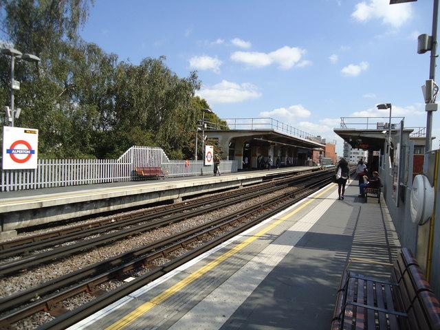 Alperton underground station