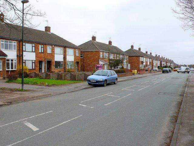 Upper Eastern Green Lane