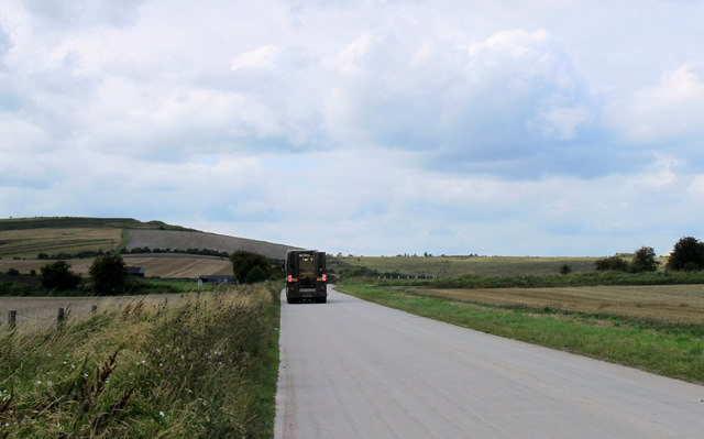 2011 : Road on the Military Range perimeter
